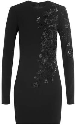 DSQUARED2 Sequin Embellished Dress with Virgin Wool