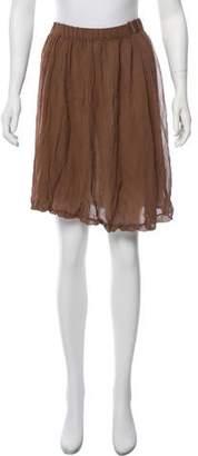 Missoni Silk Knee-Length Skirt