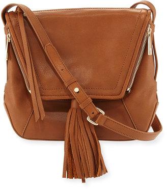 Kooba Priscilla Tassel Leather Shoulder Bag, Caramel $240 thestylecure.com