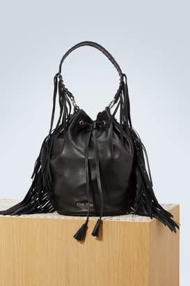 Miu Miu Fringes buckle bag