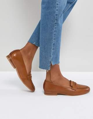 Asos Design MANHATTEN Leather Loafers