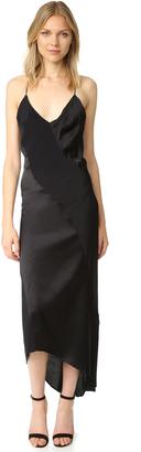 MLM LABEL Lennox Slip Dress $285 thestylecure.com