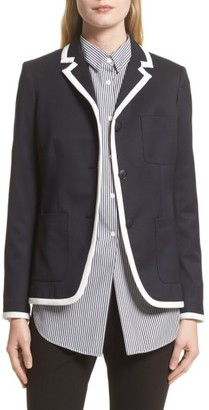 Women's Rag & Bone Redgrave Piped Blazer $595 thestylecure.com