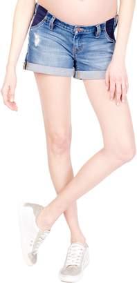Ingrid & Isabel R) Mia Maternity Boyfriend Shorts