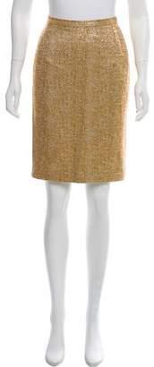 Dolce & Gabbana Brocade Pencil Skirt