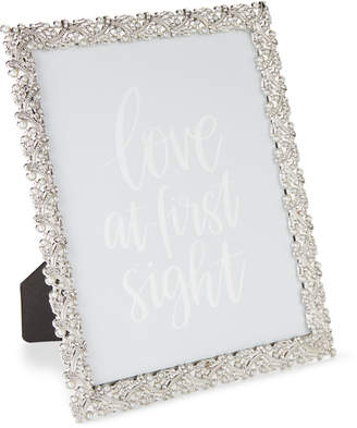 Philip Whitney Weave Branch & Pearls Picture Frame
