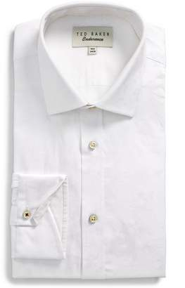 Ted Baker Pampa Trim Fit Floral Dress Shirt