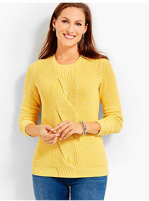 Talbots Cable Twist Sweater