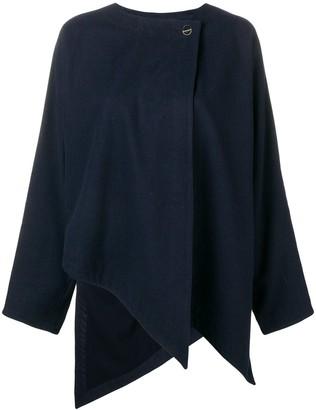 Versace Pre-Owned jagged asymmetric hem jacket