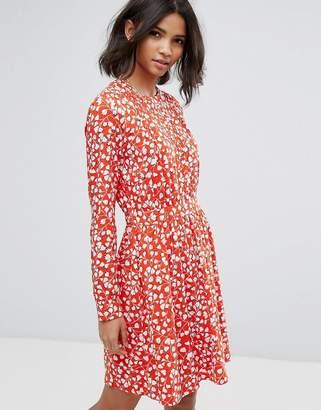 Vila Floral Printed Shift Dress