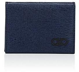 e25d2eabb7c Salvatore Ferragamo Men s Revival Leather Folding Card Case - Navy