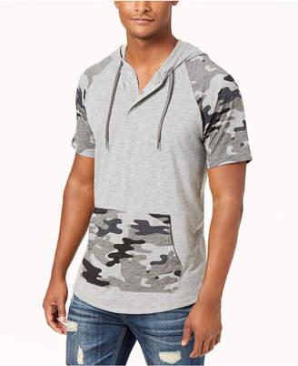 American Rag Men's Camo Colorblocked Hoodie, Created for Macy's