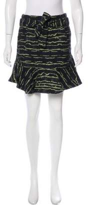 Marissa Webb Jacquard Mini Skirt