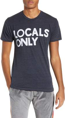 Aviator Nation Locals Only Graphic T-Shirt