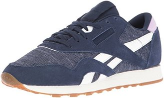 Reebok Women's CL Nylon WR Fashion Sneaker $46.02 thestylecure.com