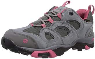 Jack Wolfskin Girls GIRLS MTN ATTACK LOW TEXAPORE Trekking- & Hiking Half-Shoes Gray Grau (rosebud 2099) Size: 11
