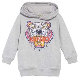 Kenzo Tiger Hooded Sweatshirt Dress