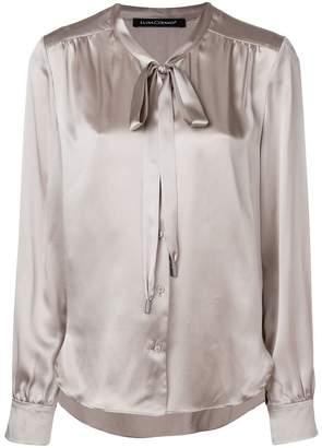 Luisa Cerano bow tie shirt