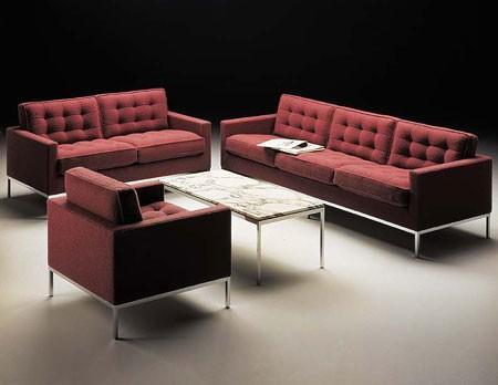 Knoll - lounge seating by florence knoll
