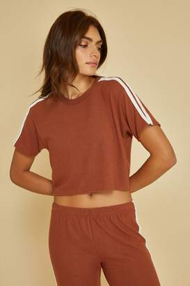 Joah Brown Queen Crop Tee