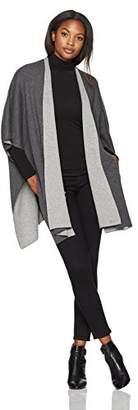 Lark & Ro Women's Reversible Poncho