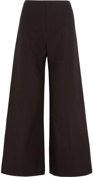 Isabel MarantIsabel Marant - Spanel Cotton And Linen-blend Wide-leg Pants - Black