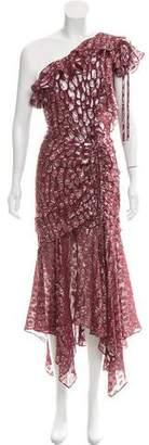 Veronica Beard Leopard Pattern Metallic Dress w/ Tags