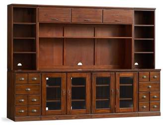 Pottery Barn Printer's Large Media Suite with Drawers and Hutch