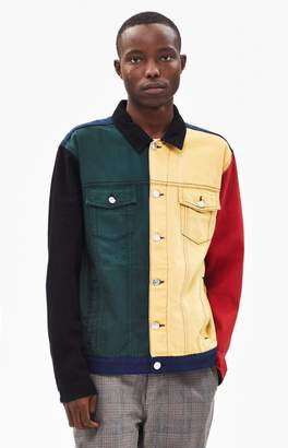 PacSun '90s Colorblock Denim Jacket