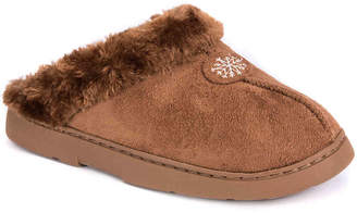 Muk Luks Fur Clog Slipper - Women's