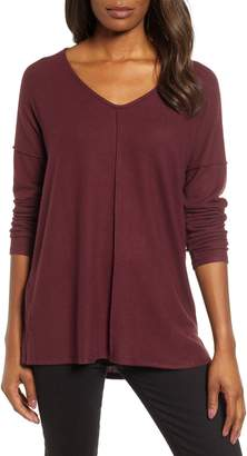 Caslon Cozy V-Neck Top
