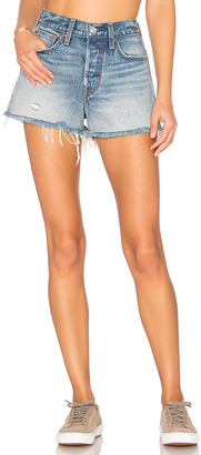 LEVI'S High Rise Wedgie Short $98 thestylecure.com