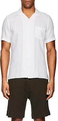 Hartford Men's Cotton-Linen Piqué Sport Shirt