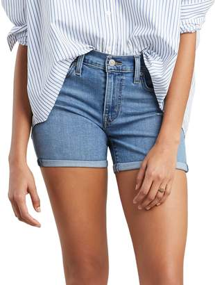 Levi's Mid-Rise Denim Shorts