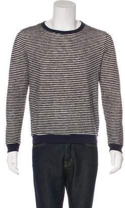 Band Of Outsiders Wool-Blend Striped Sweatshirt