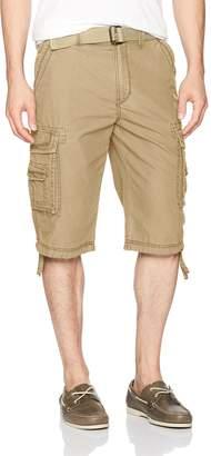 UNIONBAY Men's Cordova Belted Cargo Short