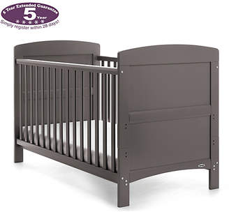 O Baby Obaby Grace Cot Bed - Taupe Grey