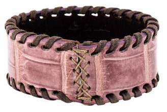 Henry Beguelin Leather Cuff Leather Cuff