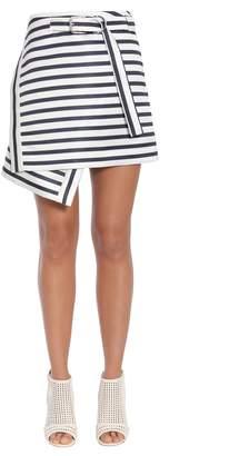 Carven Asymmetric Wrap Effect Skirt