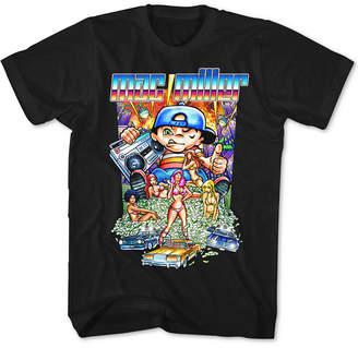 FEA Mac Miller Cartoon Men's Graphic T-Shirt