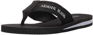 Armani Jeans Men's Flip Flop Flat Sandal