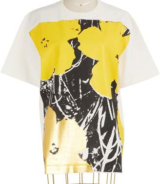 Calvin Klein Short-sleeved cotton T-shirt