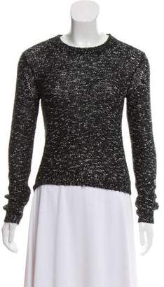 Alice + Olivia Embellished Scoop Neck Sweater