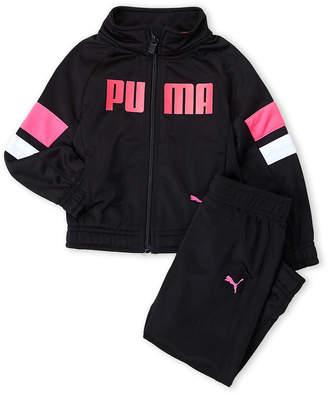 Puma Toddler Girls) Tricot Track Jacket & Jogger Set