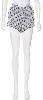 IRO Bouclé Mini Shorts