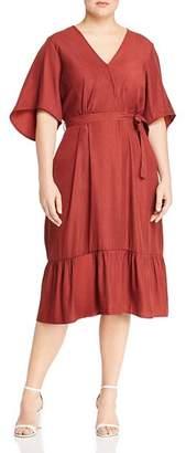 Junarose Plus Palisa Wrap-Front Dress