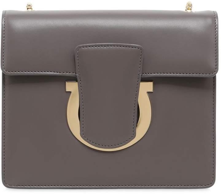 Thalia Leather Shoulder Bag