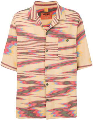 Missoni shortsleeved button shirt
