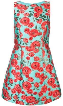 Alice + Olivia Alice+Olivia Lindsey floral print dress