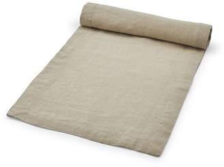 """Sur La Table Natural Linen Table Runner, 108"""" x 16"""""""